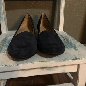 Naturalizer suede Navy Blue Flats Size 9